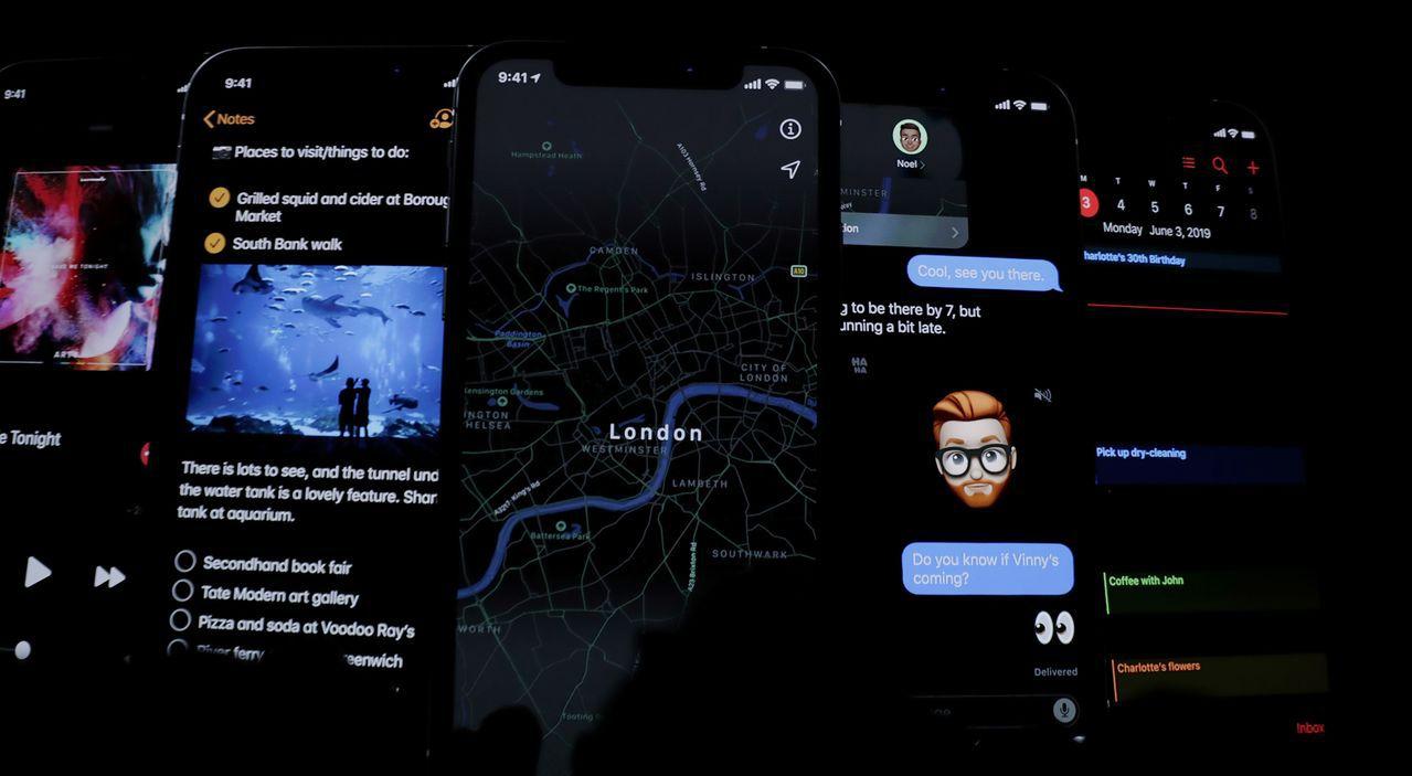 WWDC介紹iOS 13新功能 歐新社