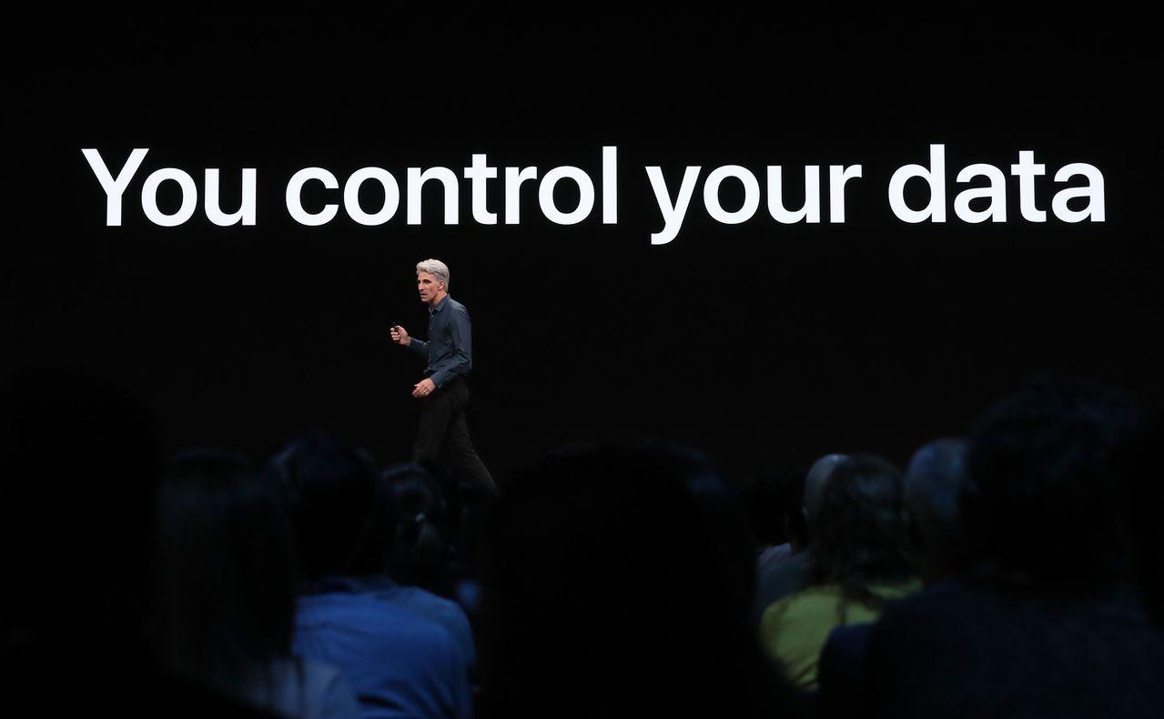 蘋果發表新功能,特別強調隱私權。 路透