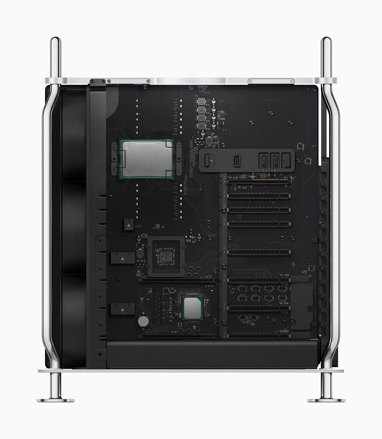 全新Mac Pro最高可選Intel Xeon 28核心處理器,並具有規格擴充彈...