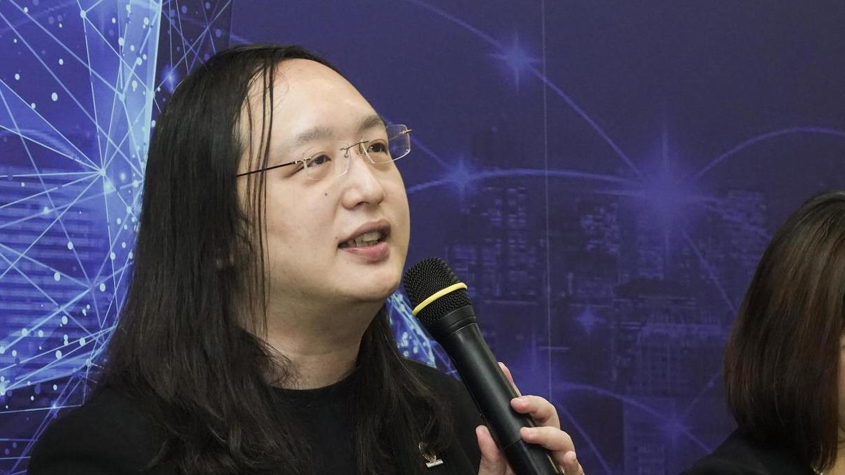 行政院數位政委唐鳳。記者鄭超文/攝影