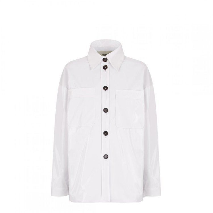 FENDI尼龍襯衫式外套,售價54,000元。圖/FENDI提供