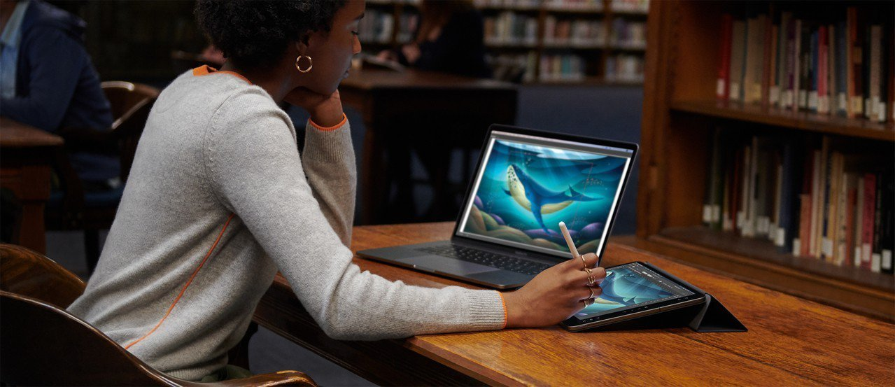 分析師表示,2020年全球平板電腦出貨量難守1.3億台門檻。圖/蘋果提供
