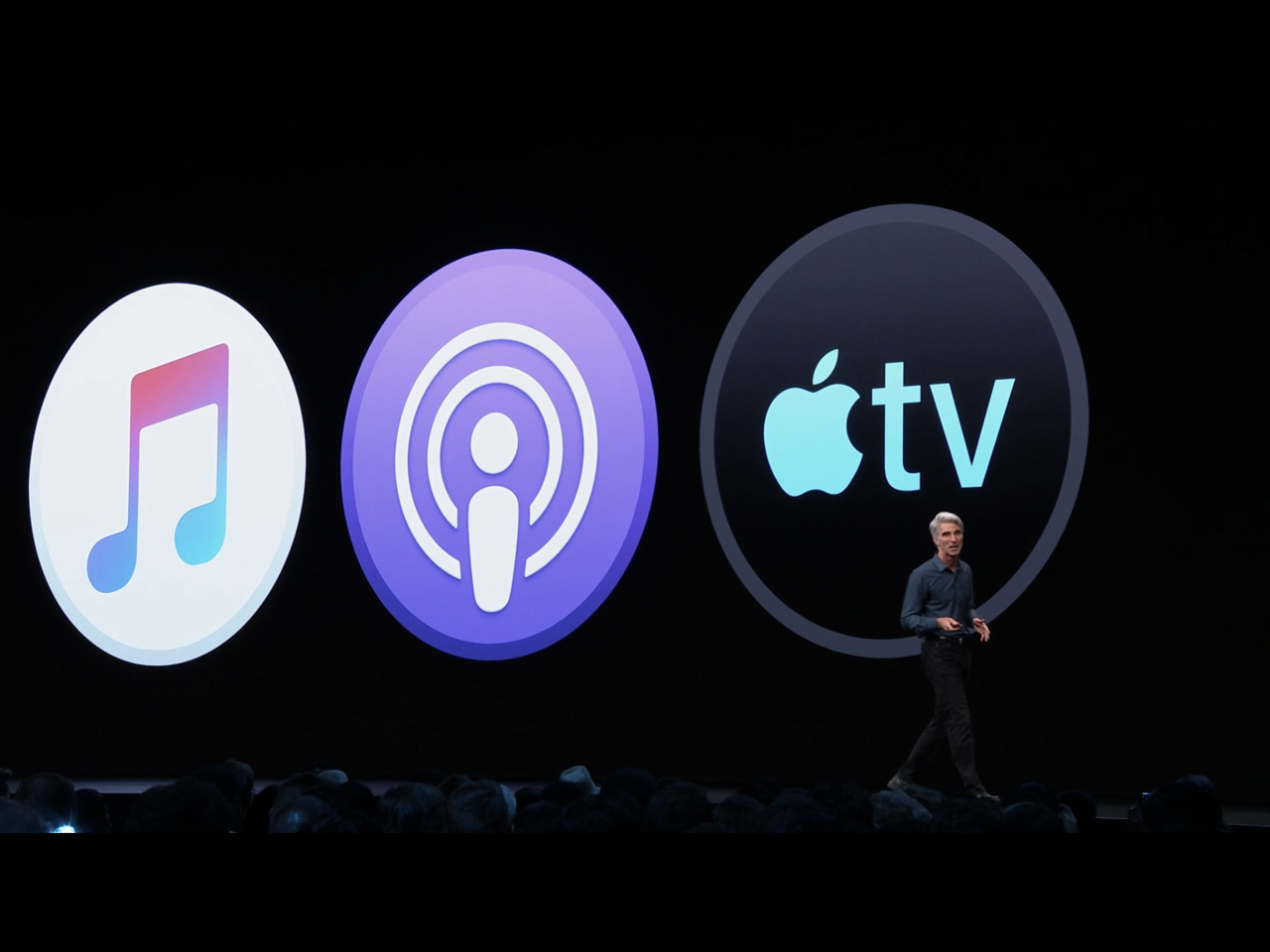 蘋果將以Apple Music、Apple Podcast和Apple TV等3...