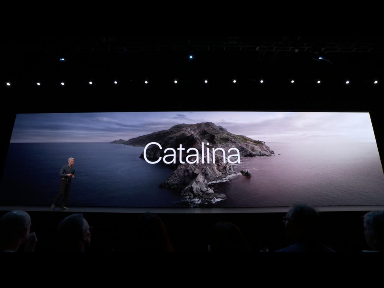 蘋果於WWDC發布最新Mac作業系統「macOS Catalina」。圖/摘自蘋...