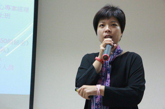 台灣首位女性棒球主審、電視劇「通靈少女」的原型人物劉柏君。圖/體育署提供