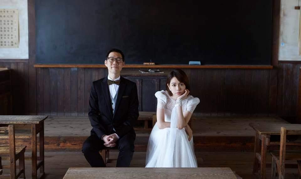 夏于喬(右)日前宣布結婚。圖/摘自臉書