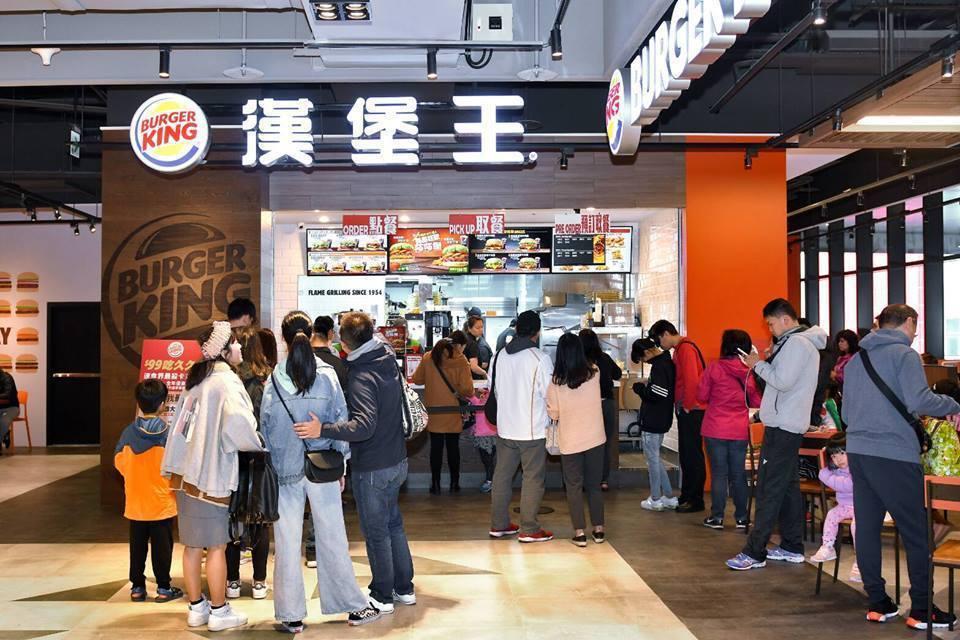 漢堡王近期積極展店、重回市場。圖/摘自漢堡王臉書