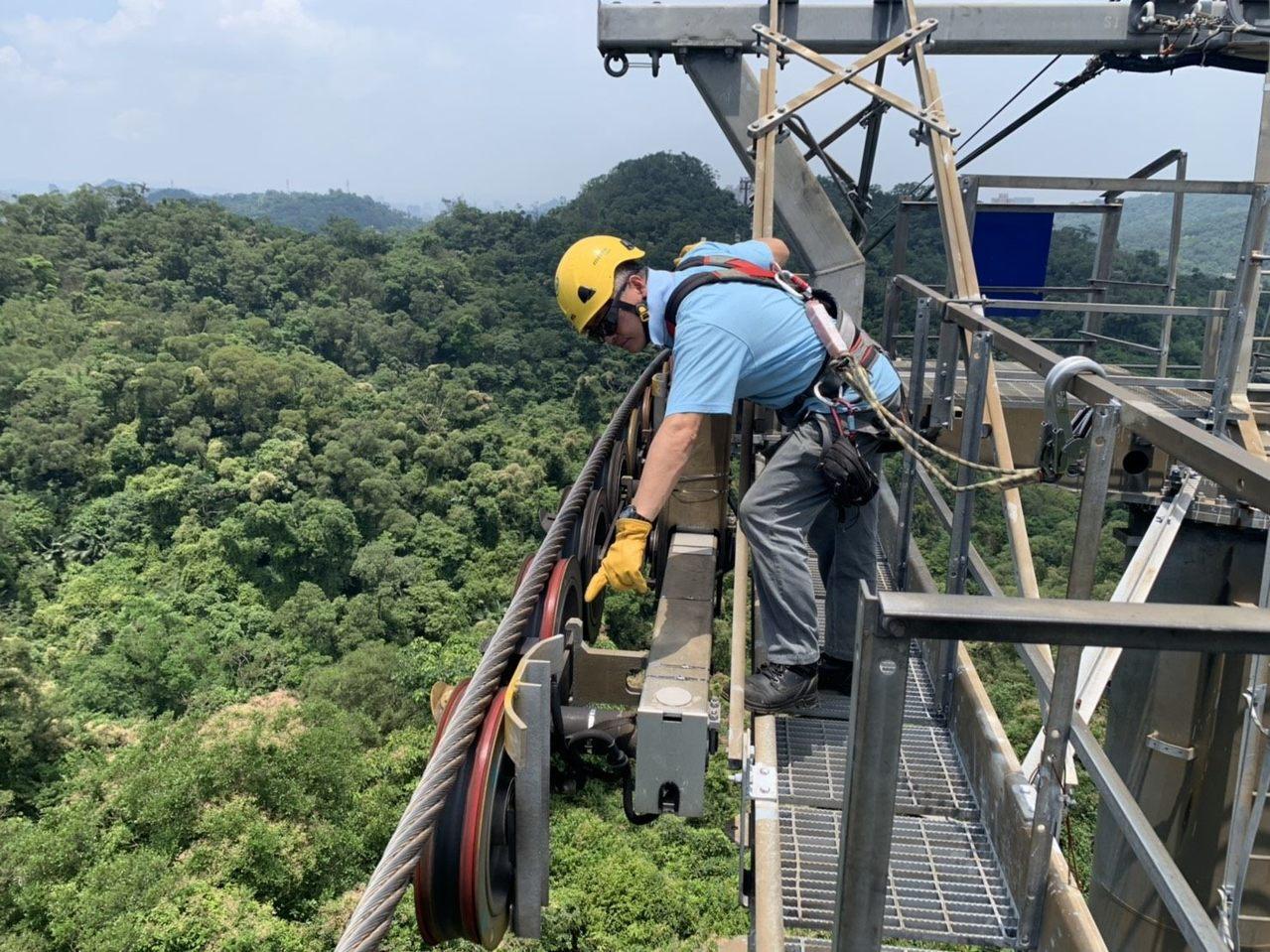 端午節連續假期即將登場,台北捷運公司今天表示,貓空纜車年度大修順利完成,將於明天...