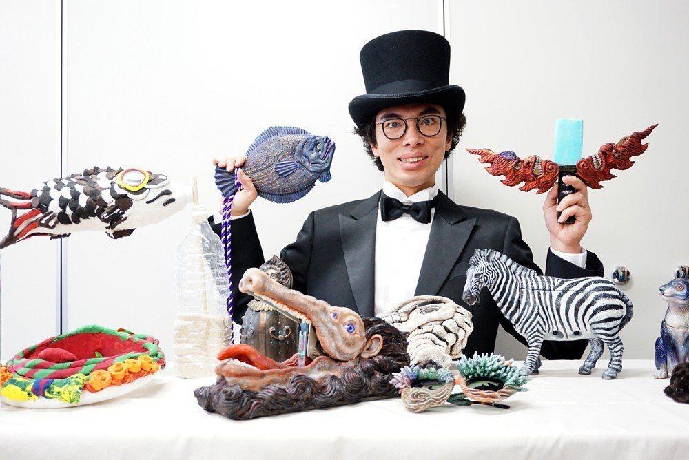片桐仁除了是演員也是雕塑家。圖/技力展實行委員會提供