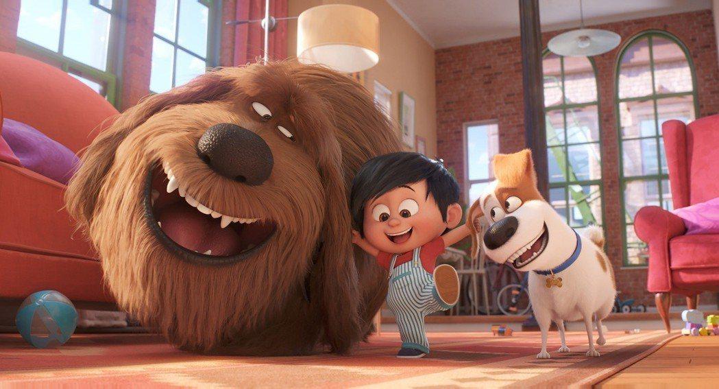 「寵物當家2」將於6月6日在台上映。圖/UIP提供