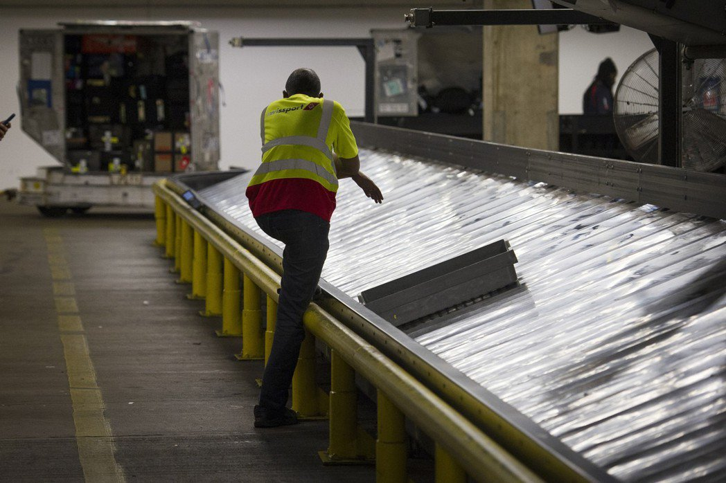 全球每年有2500萬個行李被航空公司搞丟。 (美聯社)