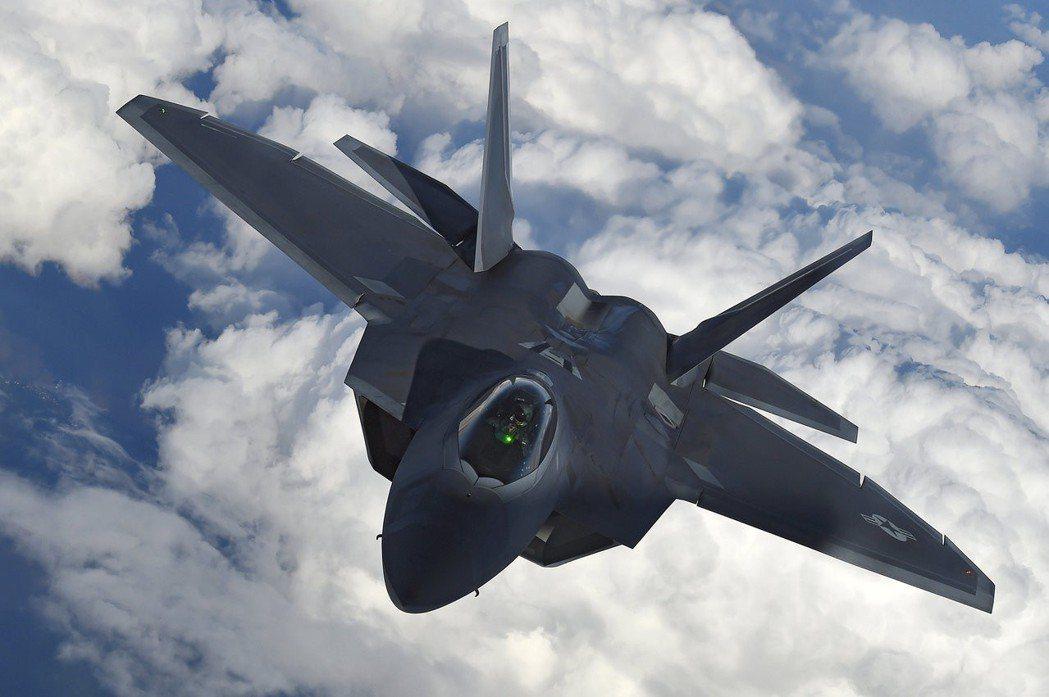 F-22猛禽戰機。 (路透)