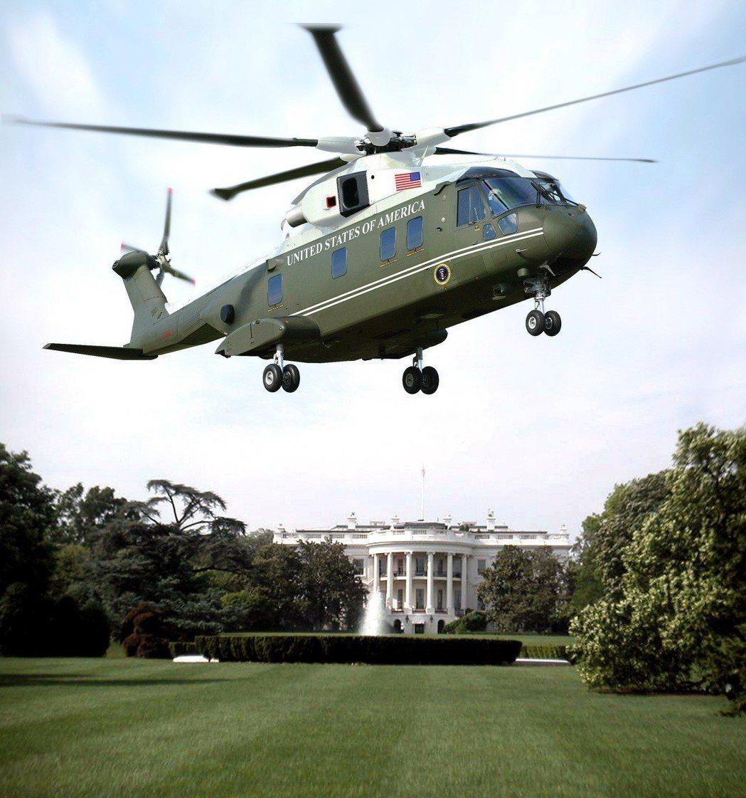 VH-71美國總統專用直升機。 圖╱取自維基百科