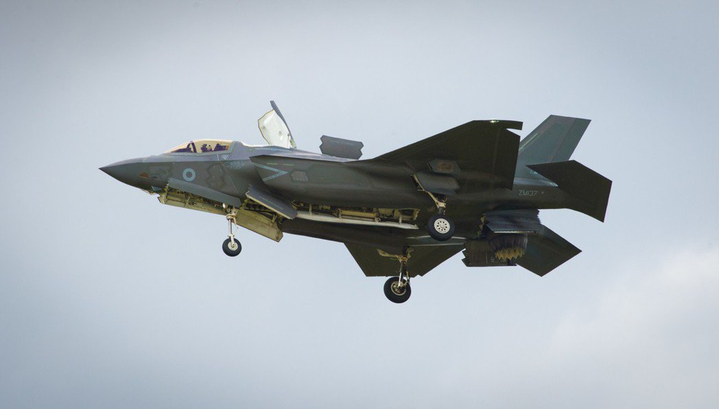 F-35戰機。 (美聯社)