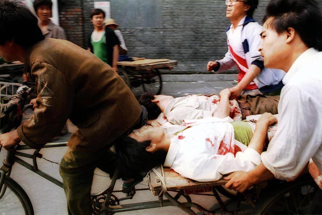 「屠殺人民就真的沒什麼好說的了。」因此當六四事件發生後,反對中共武力鎮壓的日共,...