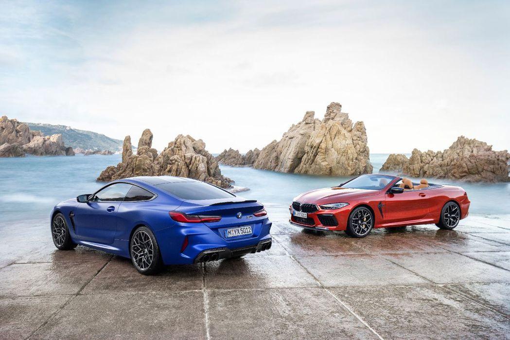 全新BMW M8 Coupe/Convertible在今日於官網亮相。 摘自BM...