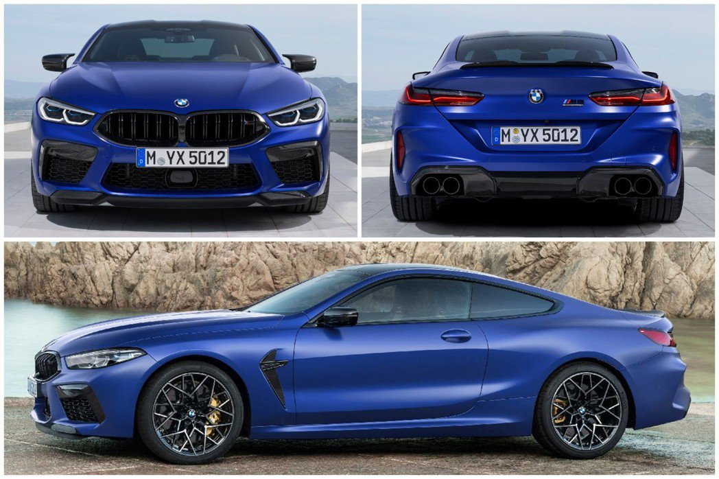 全新BMW M8 Coupe (F92),圖為Competition版本。 摘自...