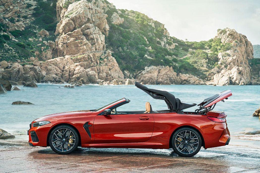 全新BMW M8 Convertible (F91),圖為Competition...