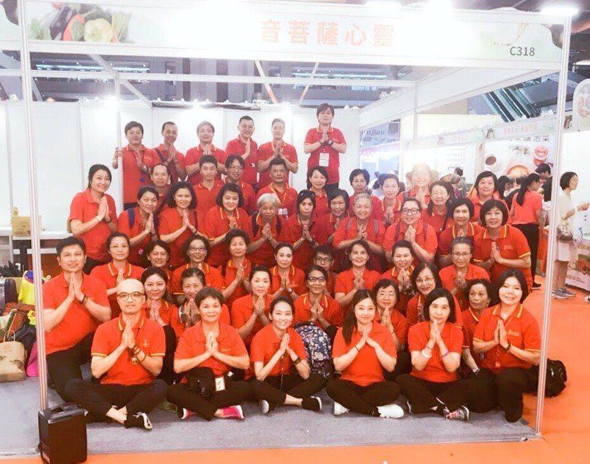 2015年至今,觀世音心靈法門佛學會舉辦四場數萬人次及十餘場大型素食佛教慈善活動...