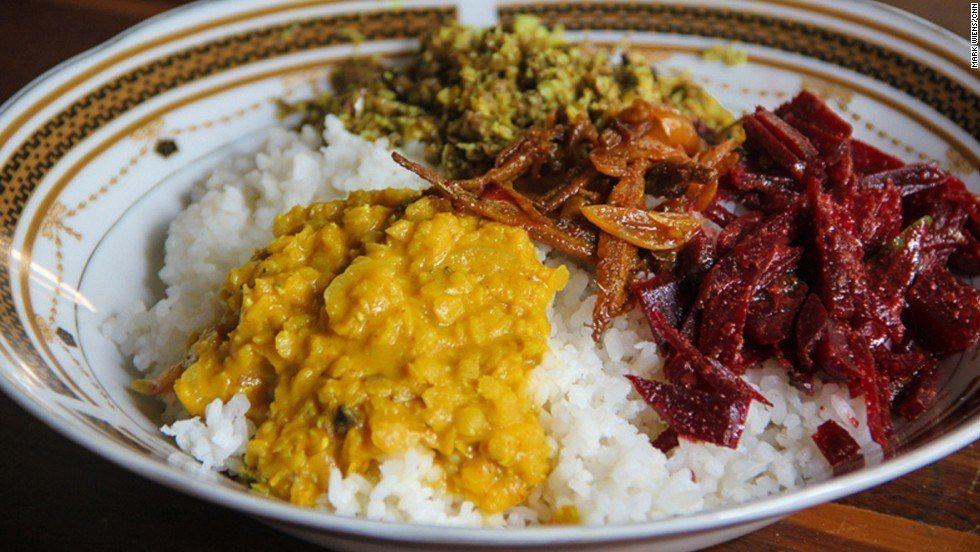斯里蘭卡道地的黃咖哩是餐桌上經常出現的美食。圖/擷自CNN travel,女子學...