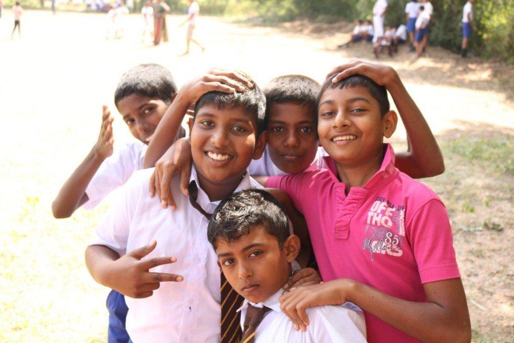 一張張真心的笑容是斯里蘭卡最難忘的美景。圖/女子學提供