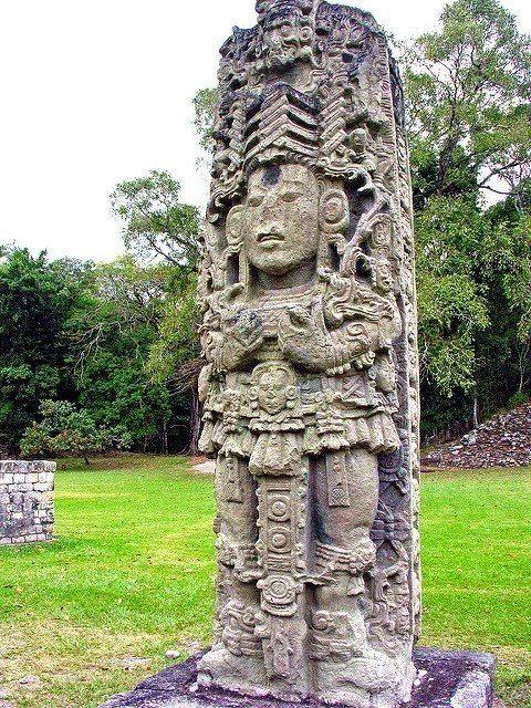 位於科潘的馬雅遺址蘊含了豐富的古文寧智慧,是宏都拉斯最著名的景點。圖/擷自fli...