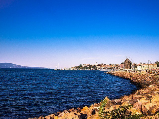 有「黑海明珠」之稱的內塞巴爾(Nesebar)是座美麗的千年小鎮。圖/擷自fli...