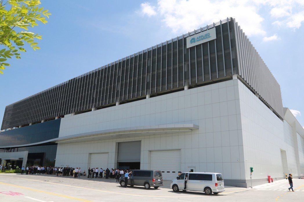 全球首座顯示器設備製造與研發合一的基地,落腳南科。 台南市政府/提供