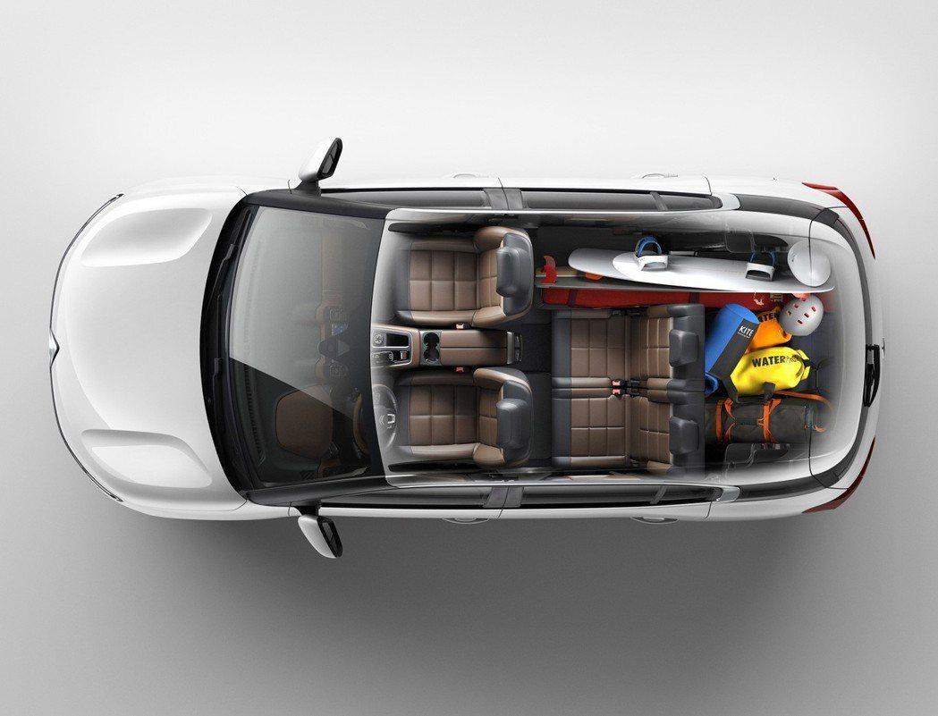 CITROËN C5 AIRCROSS獨步全球概念將MPV休旅之後座獨立3張座椅...