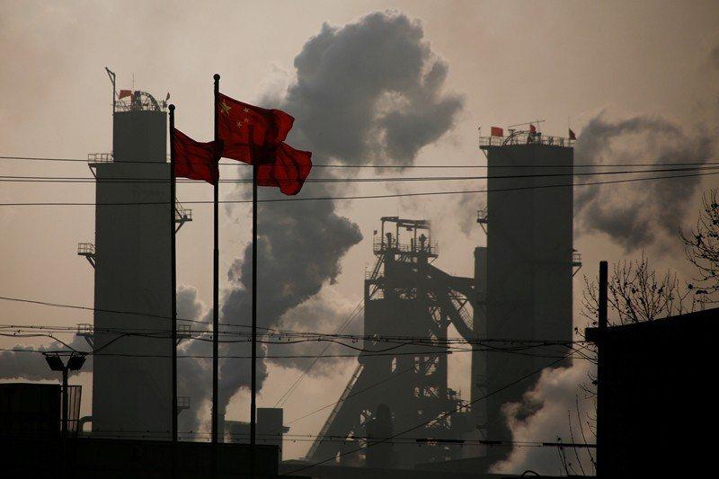 示意圖。英美研究團隊發現,近年來中國增加排放一氟三氯甲烷(CFC-11),違背蒙特羅議定書之協議。 圖/路透社