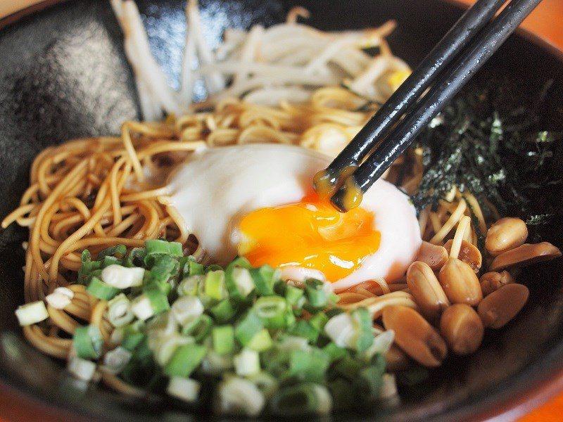 (圖/台灣旅行趣) ▲選用有機紅心蛋製作的溫泉蛋,質地濃郁風味更足