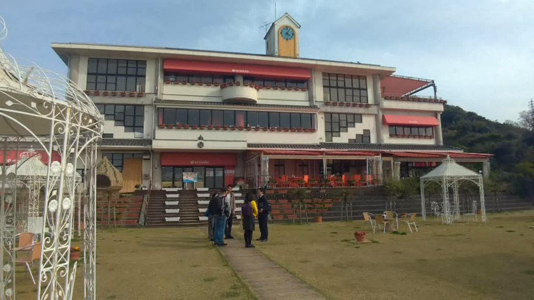淡路島的野島小學,是一個廢校轉型的實例。記者蔡佩芳/攝影