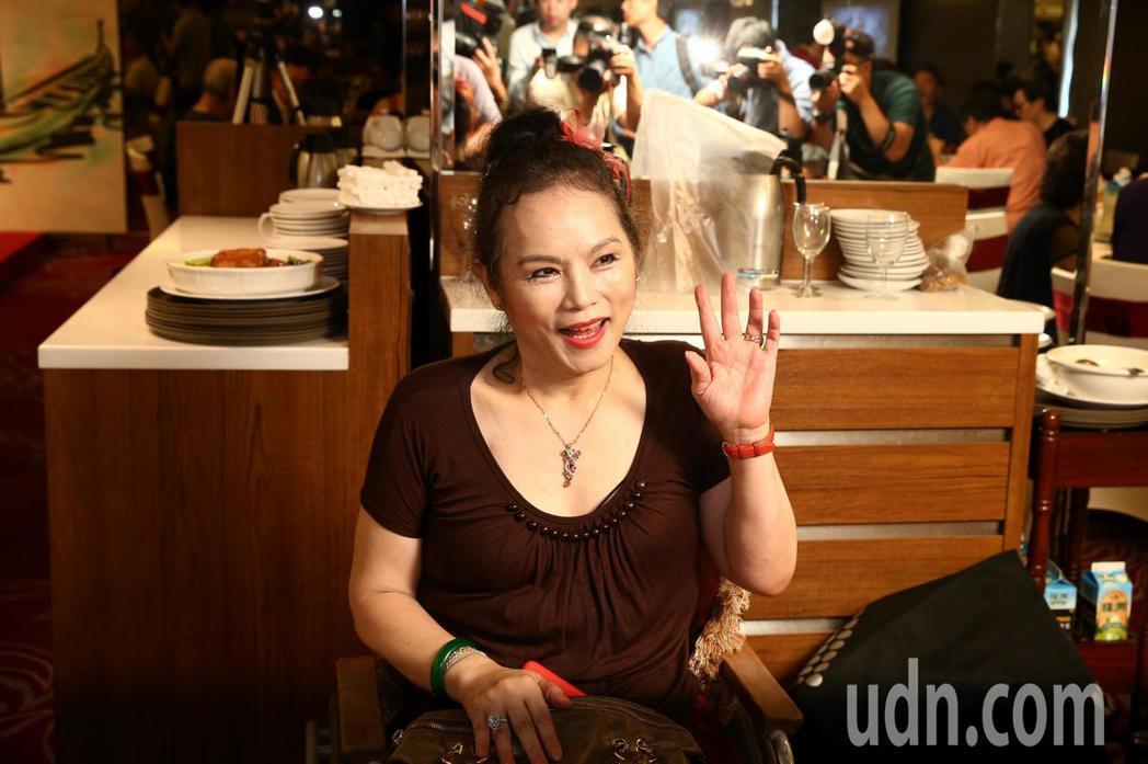 華視舉辦資深藝人端午聯歡餐會,月亮歌手李珮菁出席。記者曾原信/攝影