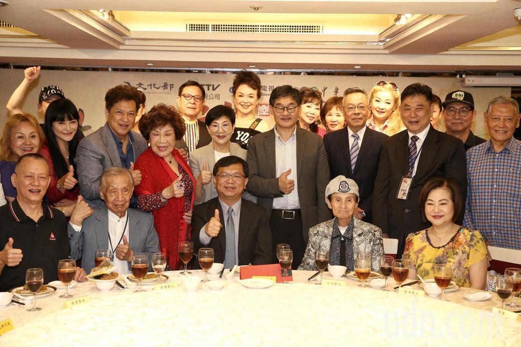 華視舉辦資深藝人端午聯歡餐會,資深藝人齊聚。記者曾原信/攝影
