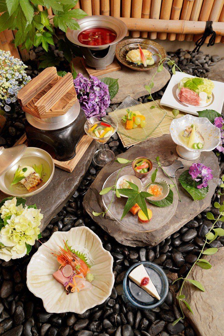 加賀屋的「納涼美食」也入列。圖/日勝生加賀屋提供