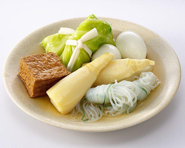 如果晚餐不想吃得太罪惡,超商關東煮蔬菜類是不錯的選擇。圖/7-ELEVEN提供