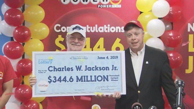 美國北卡羅萊納州威力球得獎出爐,66歲男子小傑克森獨得3.44億美元(約109億...