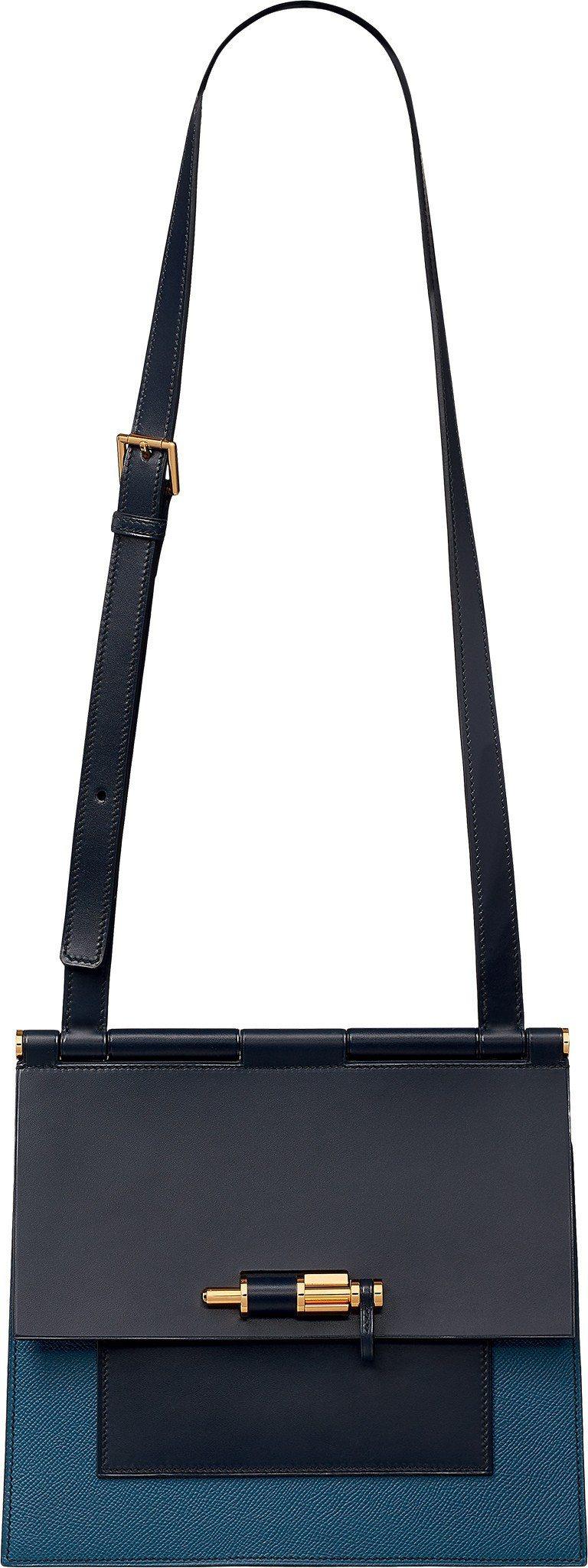 Sac À Fermoir系列皮包,20萬7,600元。圖/愛馬仕提供