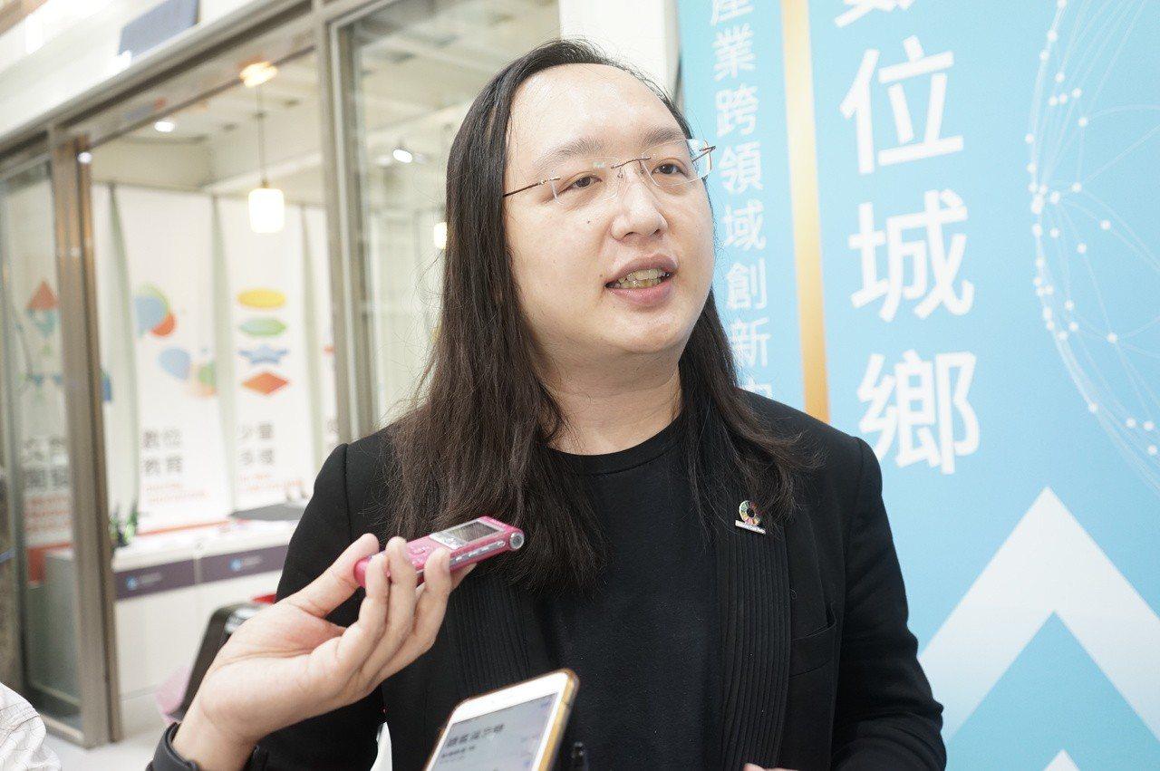 政務委員唐鳳。聯合報系記者王燕華/攝影