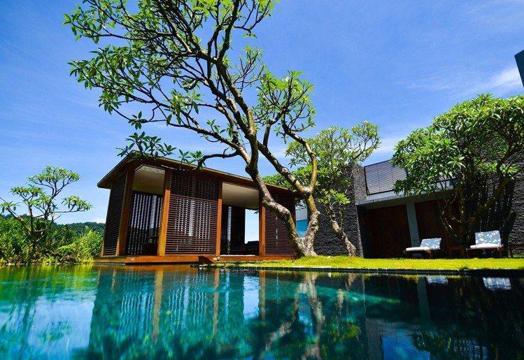 「庭園別墅」房型充滿浪漫度假氛圍。圖/涵碧樓提供