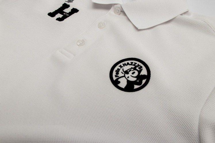 超迷你的刺繡菲力貓圖案低調可愛。圖/HAZZYS提供