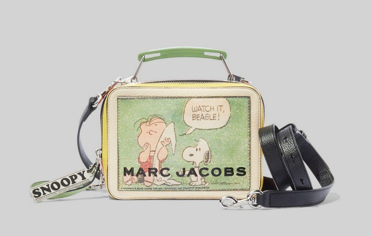 Peanuts x The Marc Jacobs系列The Box肩背包(小)...