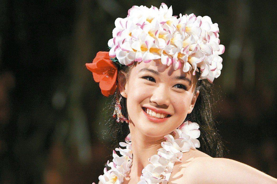 蒼井優當年演出「扶桑花女孩」。圖/群體提供
