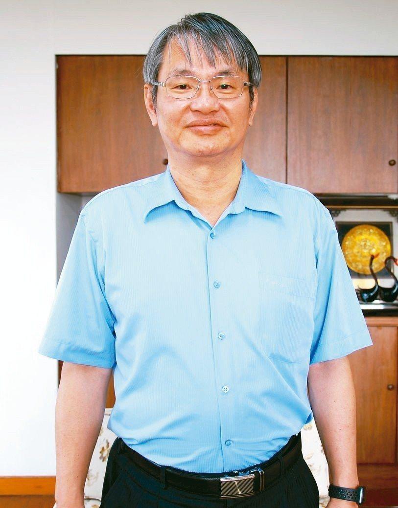 中正大學校長馮展華。 楊鎮州/攝影