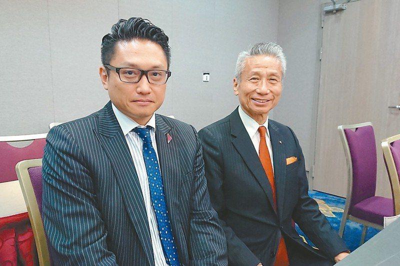 大同市場派最大股東王光祥(右)。圖/聯合報系資料照片