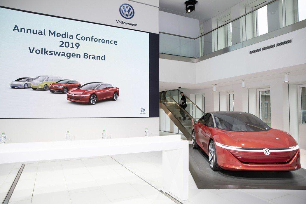 Volkswagen將大量投入數位化作業。 摘自Volkswagen