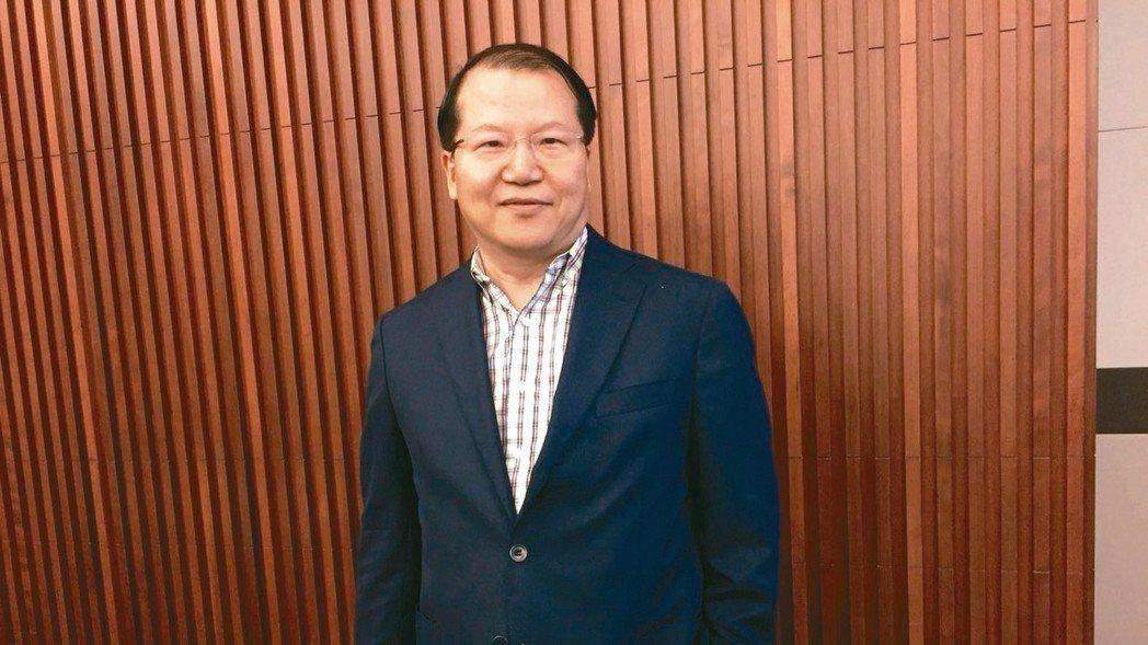 廣越總經理吳朝筆。 本報資料照片