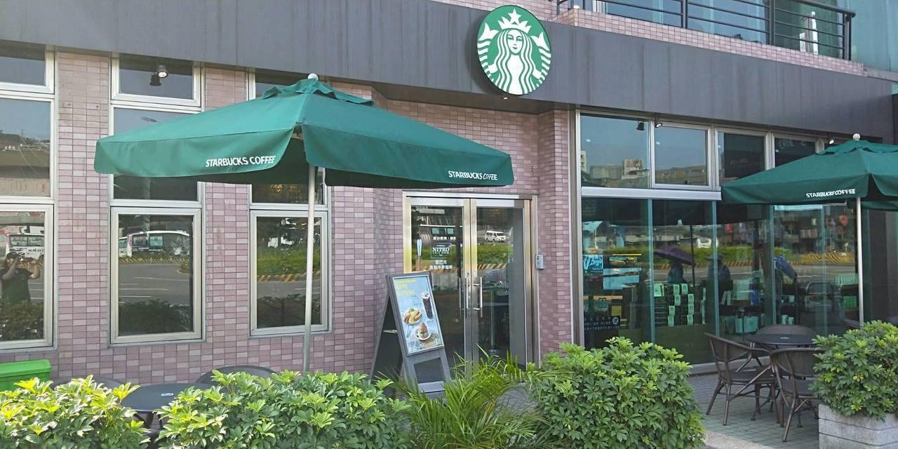 星巴克海景門市門市。圖/Starbucks提供