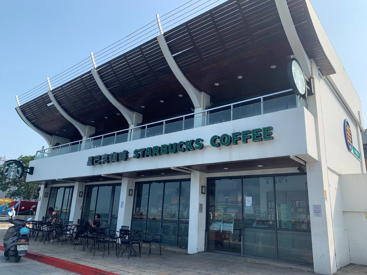 河岸門市。圖/Starbucks提供