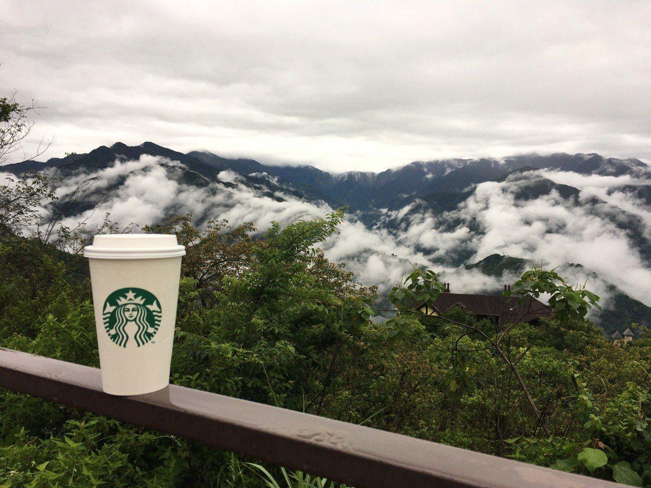星巴克清境門市。圖/Starbucks提供